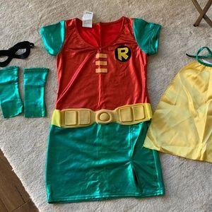 Robin Dress Costume, Tween Medium
